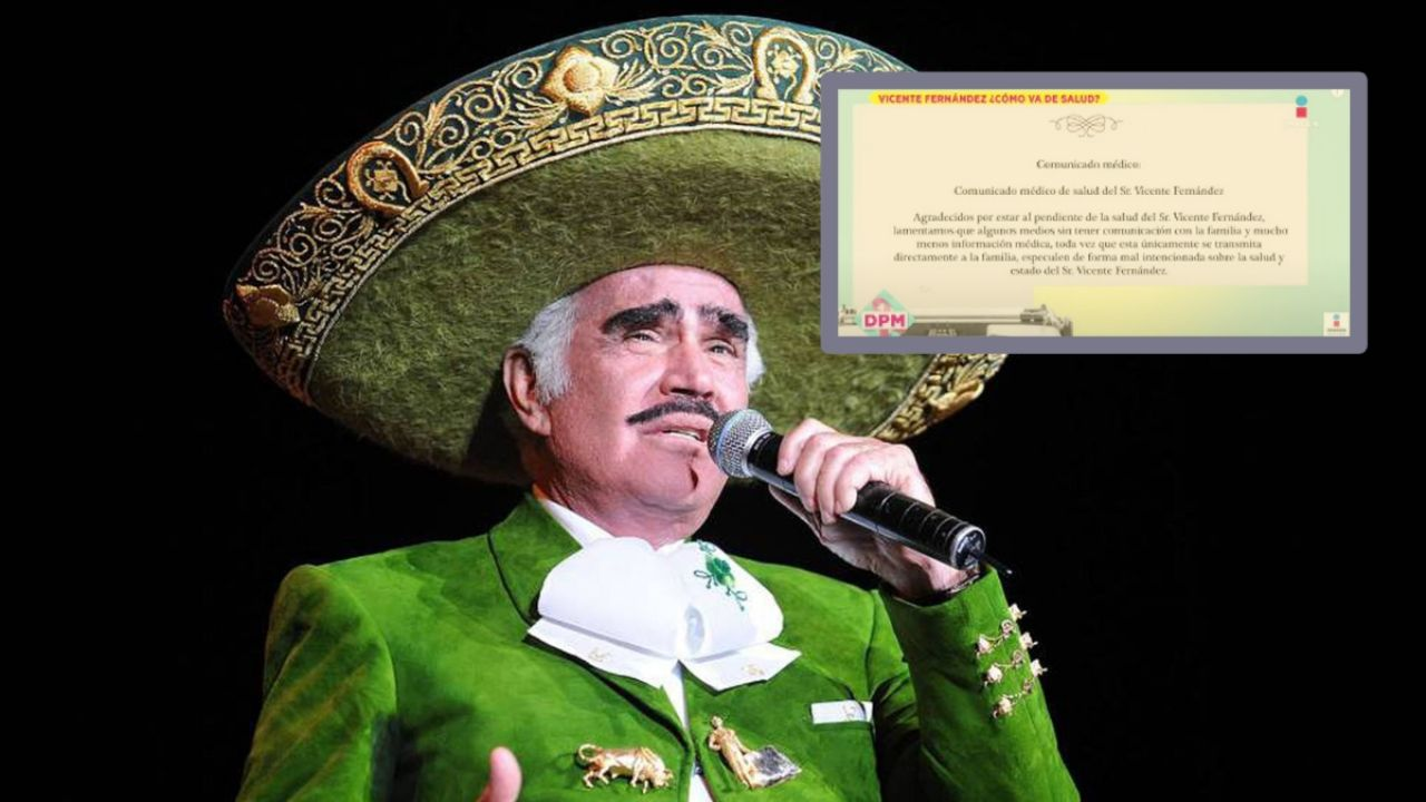 Vicente Fernandez what is Chentes HEALTH status TODAY Wednesday October